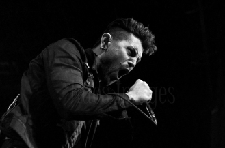 Davey Havok of A.F.I.